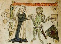 Wolfram <von Eschenbach>: Willehalm (Fragment) Sachsen (Umkreis Quedlinburg/Halberstadt), um 1270 - 1275 Cgm 193,III Folio 1r