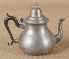 Pewter Teapot, 1830