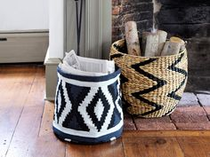 8 beautiful baskets -- for $40 or less!