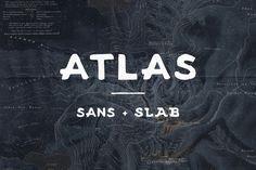 Check out Atlas - Sans and Slab by Jackrabbit Creative on Creative Market