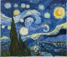 I think I'm more excited to see Starry Night at MOMA than anything else <3