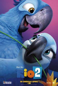 """A animação """"Rio 2″ teve divulgado novos cartazes http://cinemabh.com/imagens/a-animacao-rio-2-teve-divulgado-novos-cartazes"""