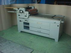 Una FAG C-525, una tira pruebas suiza para impresión tipográfica nueva o mejor dicho, reconstruida.