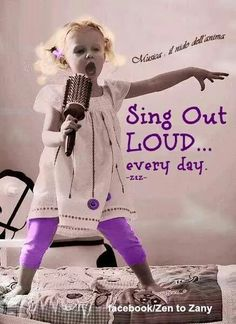 A possible path to happiness ... sing out loud every day