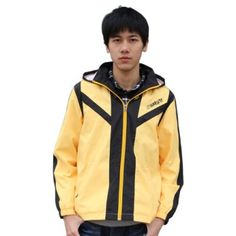 Anime Naruto yellow zip up hoodie for men cosplay Uzumaki Naruto costume