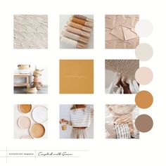 Warm Moodboard Inspiration by Coupled With Grace - Juan Kambiyo Website Color Palette, Warm Colour Palette, Neutral Colour Palette, Warm Colors, Mood Board Inspiration, Color Inspiration, Brand Inspiration, My New Room, Decoration