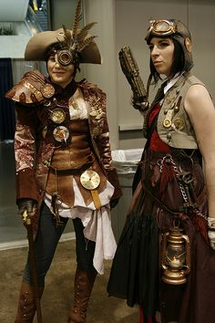My steampunk costume for comic con. Steampunk Cosplay, Pirate Steampunk, Steampunk Kunst, Mode Steampunk, Style Steampunk, Steampunk Clothing, Steampunk Fashion, Steampunk Couture, Post Apocalyptic Clothing
