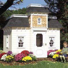 Victorian Mansion Playhouse from PoshTots