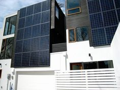 Building integrated solar...it's the way forward.