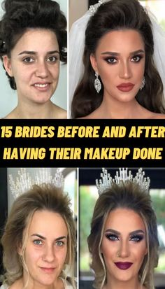 #Brides #Before #After #Makeup Makeup Eye Looks, Eye Makeup, Fancy Makeup, Matte Makeup, Edgy Nails, Stylish Nails, Photography Pics, Reflection Photography, Photoshop Photography