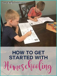 How to get started h