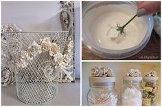 Λουλούδια σε γύψο: απλές ιδέες για διακόσμηση