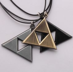 The Legend of Zelda The Triangle Mark Necklace //Price: $11.99 & FREE Shipping //   #fairytail #anime