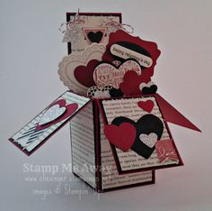 Card in a Box stamping up created by: stamp me away