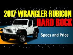2017 Wrangler Rubicon Hard Rock Transmission, Interior and Exterior Expl...
