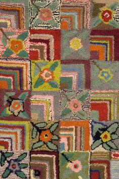 Dash and Albert Gypsy Rose Wool Hooked Rug Ships Free #bohochic #bohochicstyle #bohochicliving #bohochicfurniture #bohochichousedecor #lavenderfields