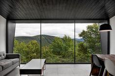 Impressionnant chalet conçu par la firme d'architecture _naturehumaine dans les Cantons-de-l'Est - Joli Joli Design