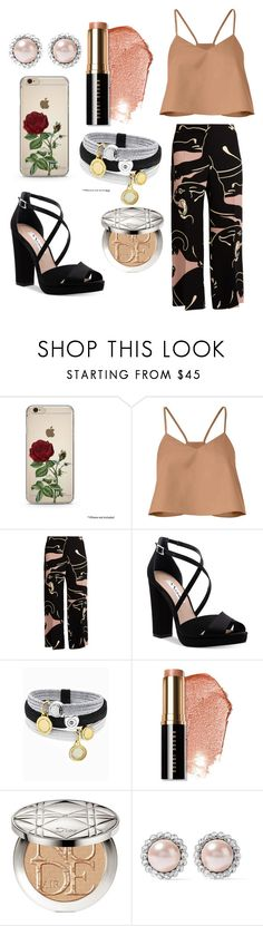 """Summer!!"" by ayeshaghori ❤ liked on Polyvore featuring TIBI, Valentino, Nina, Marc Jacobs, Bobbi Brown Cosmetics, Christian Dior and Miu Miu"