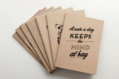 The Everyday Notebook by Past Present on hellopretty.co.za