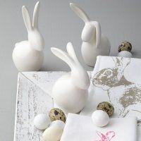 craft with white cement Leonardo voorjaar 2014 Leonardo Frühjahr 2014 Easter Crafts, Holiday Crafts, Happy Easter, Easter Bunny, Design3000, Diy Ostern, Cement Crafts, Easter Season, Craft Night