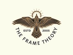 The Frame Theory designed by Brian Steely. Connect with them on Dribbble; the global community for designers and creative professionals. Logo Design, Identity Design, Visual Identity, Brand Identity, Graphic Design, Cool Logos Design, Web Design, Logo Circulaire, Design Spartan