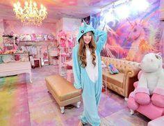 Unicorn cafe in Bangkok