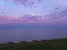 Sunset over Chesapeake Bay, April 5, 2012 (c) Kit Bigelow