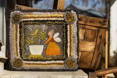 NUEVO modelo  niña de miel  de la granja de por notforgottenfarm