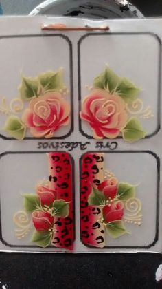 One Stroke, Nails Decoradas, Brush Strokes Painting, Toe Designs, Acrylic Painting Flowers, Flower Nails, Nail Stickers, Gel Nails, Projects To Try