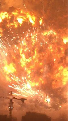 China Explosion Blast...WOW, what raw power.
