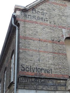 ghost sign Copenhagen