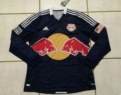 NWT ADIDAS New York Red Bulls MLS Long Sleeve Soccer Jersey Men's XL in Sports Mem, Cards & Fan Shop, Fan Apparel & Souvenirs, Soccer-MLS | eBay