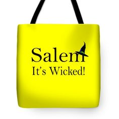 Salem It's Wicked Fun Tote Bag by Jeff Folger