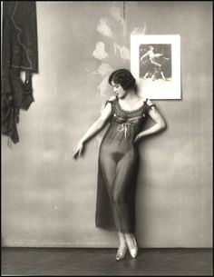 Storyville, New Orleans, prostitute photographed by E.J. Bellocq, early 1900's.