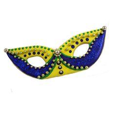 Mardi Gras Cookie Cutters - Cookie Cutter Mardi Gras Mask, Set of 2 Tin