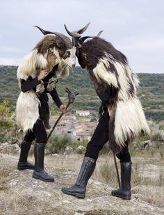 Charles Freger: Bubageri Costumes (Bulgarian pagan ritual).