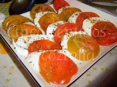 Cinco sentidos na cozinha: Salada capresse