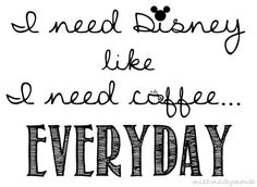 Yes I do! °○°♡ Except i don't drink coffee, so im just a plain addict for disney