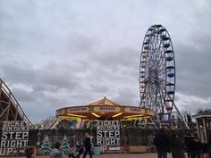 Being Tilly's Mummy: The Frosted Fairground At Dreamland, Margate