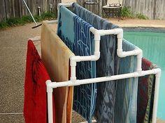 Junto a la piscina Toallero in Casa y jardín, Patio, jardín y espacios abiertos, Piscinas y spas | eBay