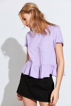 Shop the Truly Madly Deeply Babydoll Peplum Tee and more Urban Outfitters at Urban Outfitters. Read customer reviews, discover product details and more.