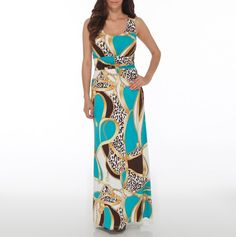 This is one of my favorites on totsy.com: Printed Maxi Dress
