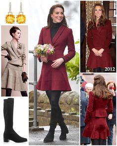 """3,022 Likes, 33 Comments - Catherine Duchess Of Cambridge (@katemidleton) on Instagram: """"For her first engagement as patron of Action for Children, Kate brought back her gorgeous burgundy…"""""""