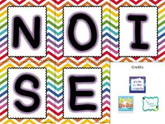 Looking for a new classroom management strategy? Use NOISE! #freebie