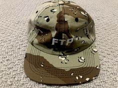 2e8e0e048d664 FTP FUCKTHEPOPULATION RIPSTOP LOGO HAT CAP CAMO SUPREME FUCT FCKING AWESOME   fashion  clothing