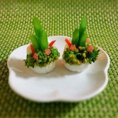 いいね!38件、コメント5件 ― 二コフさん(@fooo_)のInstagramアカウント: 「#門松 #ちくわ #ちくわ門松 #菜の花 #アスパラガス #料理 #kadomatsu」