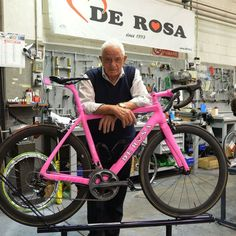 Mr De Rosa #Passion for #cycling