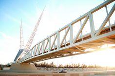 Skydance Bridge in OKC
