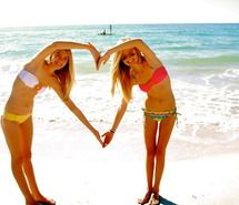 Inspiring picture <3, amizade, beach, bff.