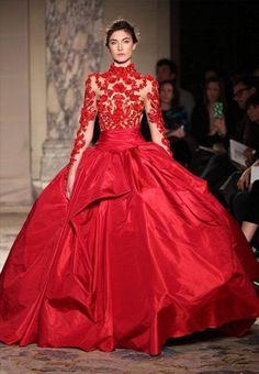 Las 52 Mejores Imágenes De Vestidos De Novia De Color Rojo
